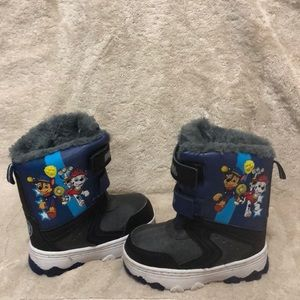Youth PawPatrol snow boots